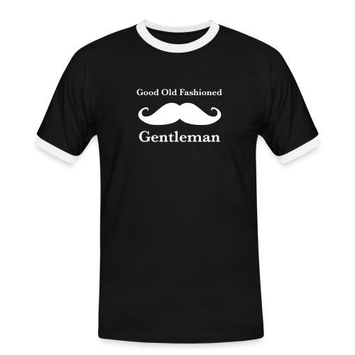Gentleman's Moustache - Men's Ringer Shirt