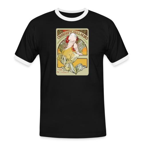 Muchibre - T-shirt contrasté Homme
