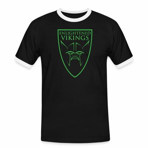 Enlightened Vikings (Org) - Kontrast-T-skjorte for menn