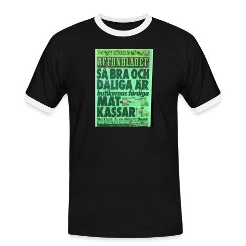TEST2 - Kontrast-T-shirt herr