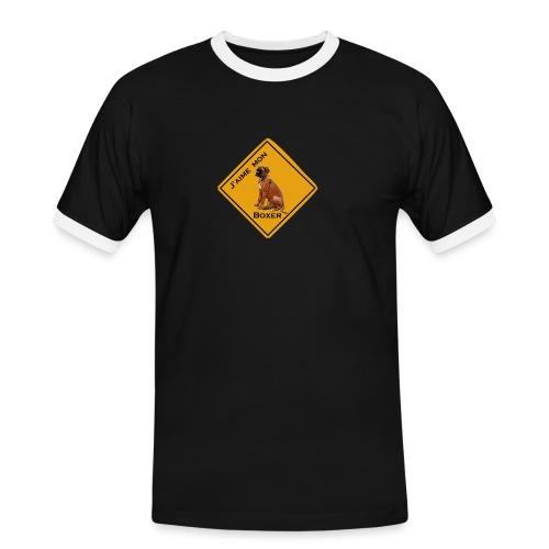 rb2210 - T-shirt contrasté Homme