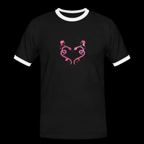 Coeur de serpents - T-shirt contrasté Homme