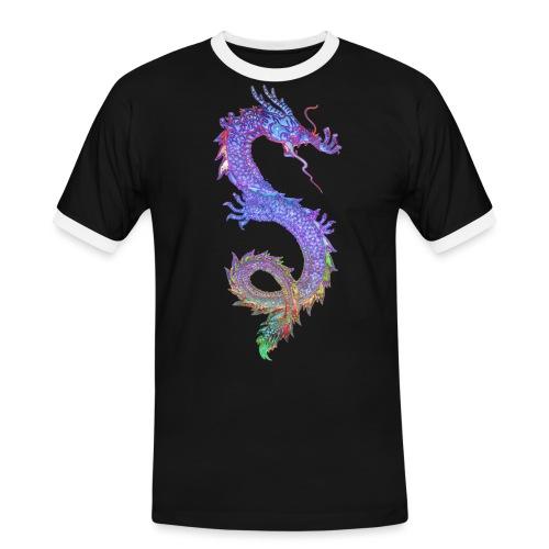 MAGIC DRAGON - Männer Kontrast-T-Shirt