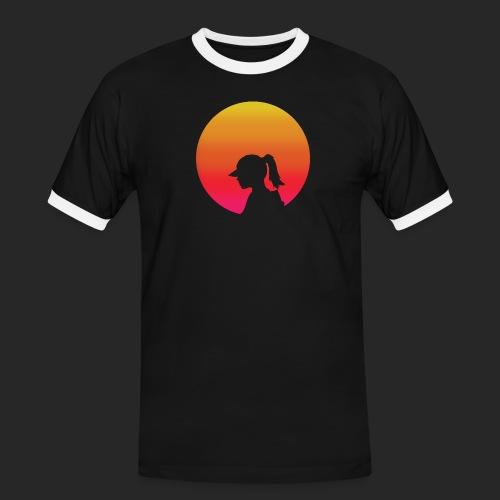 Gradient Girl - Men's Ringer Shirt