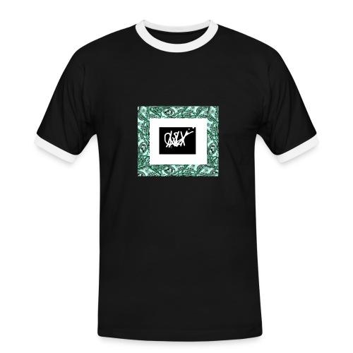 MONEY RAIN - Camiseta contraste hombre