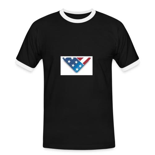 flag - Men's Ringer Shirt
