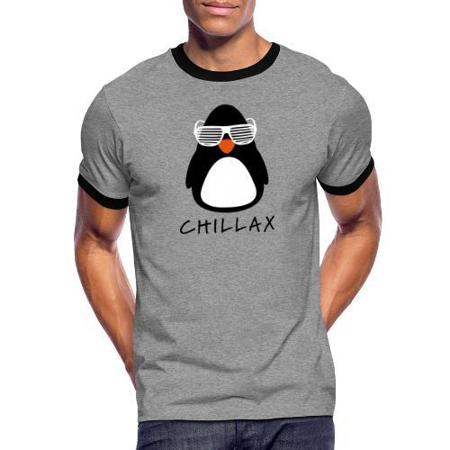 Chillax - Mannen contrastshirt