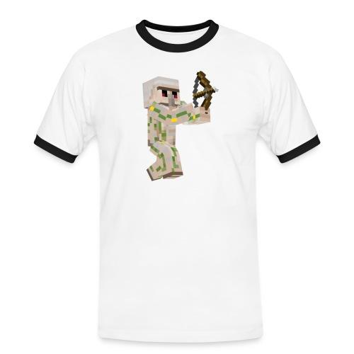 Bow Shooter - Kontrast-T-shirt herr