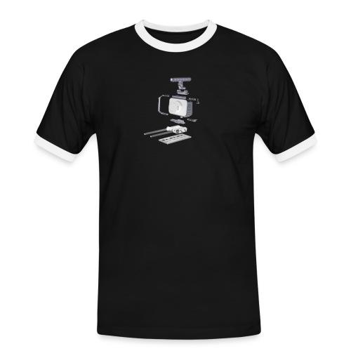 VivoDigitale t-shirt - Blackmagic - Maglietta Contrast da uomo