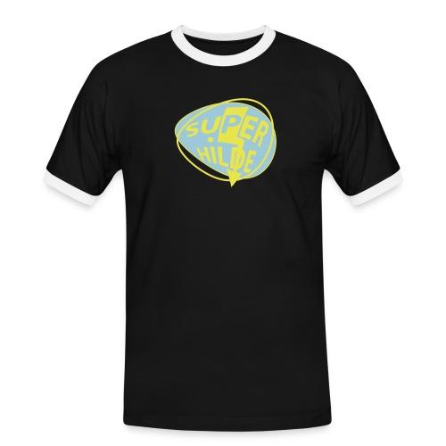 superhilde - Männer Kontrast-T-Shirt