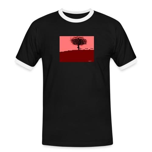 albero_0001-jpg - Maglietta Contrast da uomo