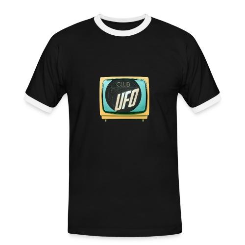 Namnlo st 1 - Kontrast-T-shirt herr