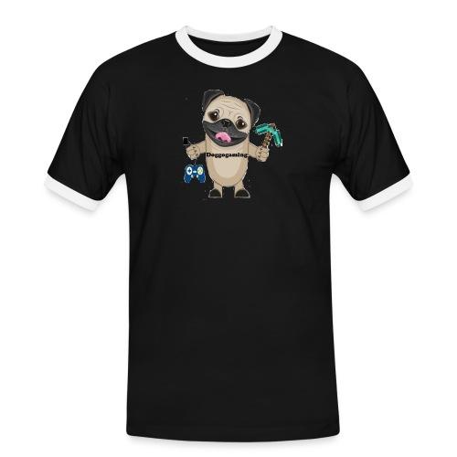 DOGGOgaming - Kontrast-T-shirt herr