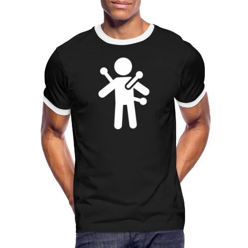 Voodoo - Mannen contrastshirt