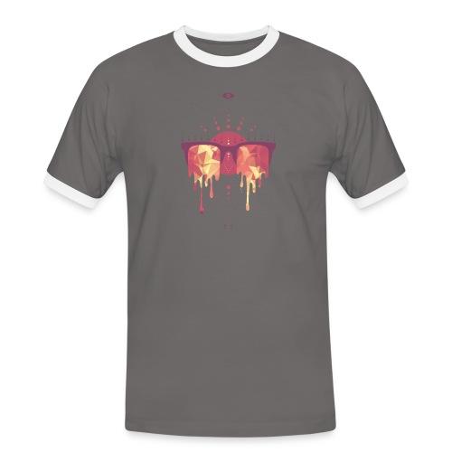 summer png - Herre kontrast-T-shirt