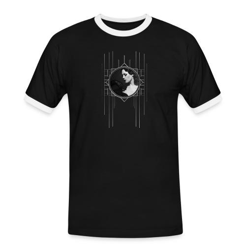 Femme Fatale Xarah Design 3 - Men's Ringer Shirt