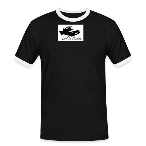 caddydaddylogo3 - Männer Kontrast-T-Shirt