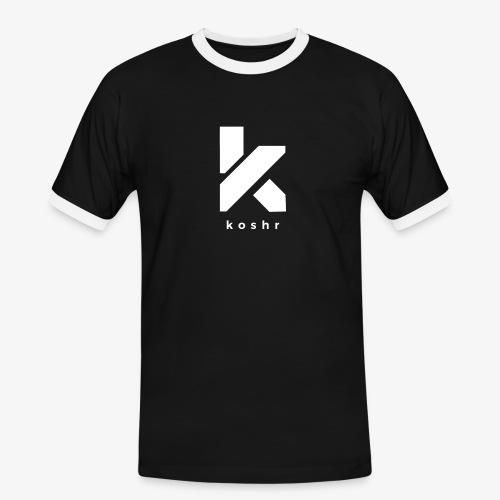 Koshr Official Logo - - Men's Ringer Shirt