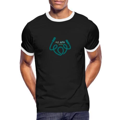 AFAfitness - Maglietta Contrast da uomo