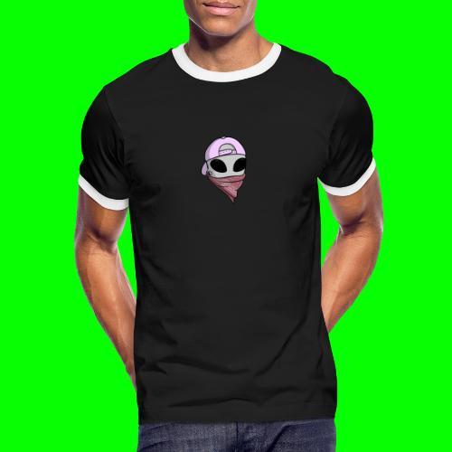 gangsta alien logo - Maglietta Contrast da uomo
