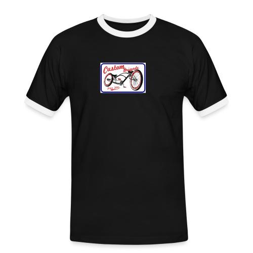 since0301 - T-shirt contrasté Homme