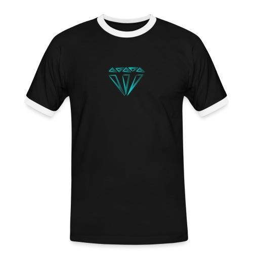 diamante - Maglietta Contrast da uomo