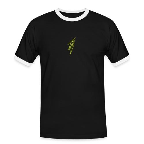 fulmine - Maglietta Contrast da uomo