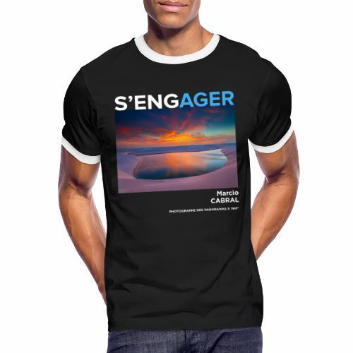 1 Achat = 1 Don Fondation Yann Arthus-Bertrand - T-shirt contrasté Homme