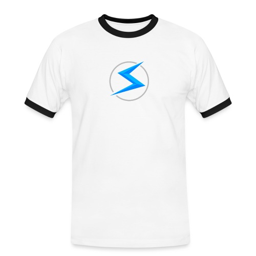 #1 model - Mannen contrastshirt