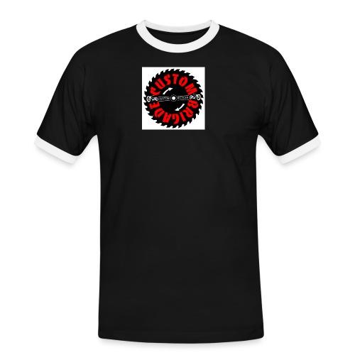 sci01 - T-shirt contrasté Homme
