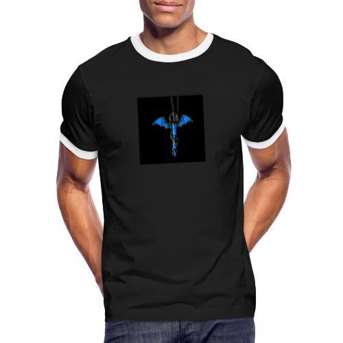 hauptsacheAFK - Männer Kontrast-T-Shirt