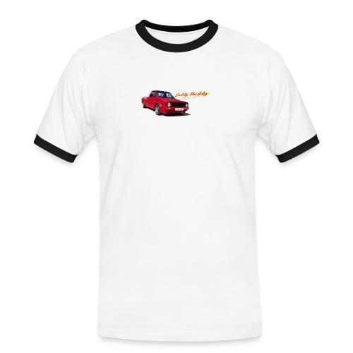caddydaddylogo kopie - Männer Kontrast-T-Shirt