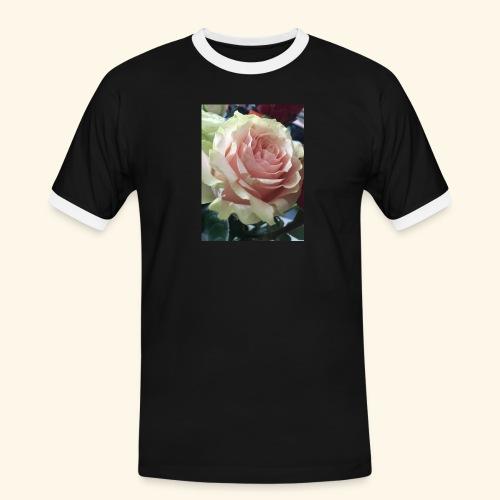 Roses - Männer Kontrast-T-Shirt