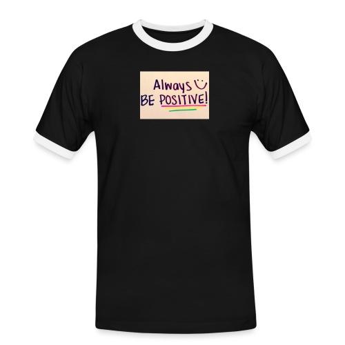 Bamse - Herre kontrast-T-shirt