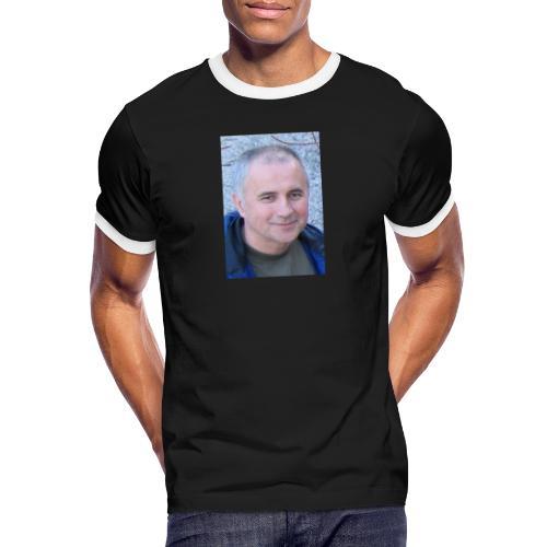 tibor csikos - Kontrast-T-shirt herr