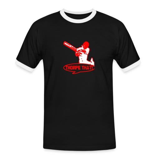 thorpered png - Men's Ringer Shirt