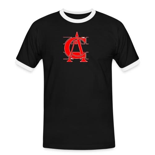3s ca red - T-shirt contrasté Homme