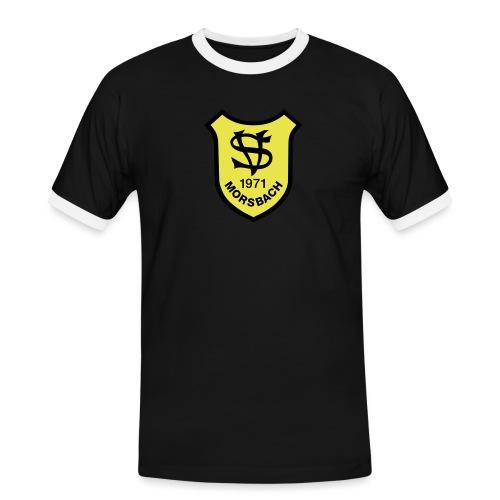 Wappen SV Morsbach - Männer Kontrast-T-Shirt