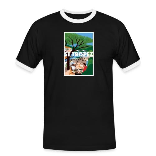 St Tropez - Men's Ringer Shirt