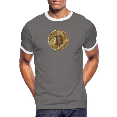 BTC - T-shirt contrasté Homme