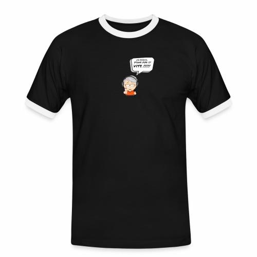 Le Vieux Bourré - T-shirt contrasté Homme