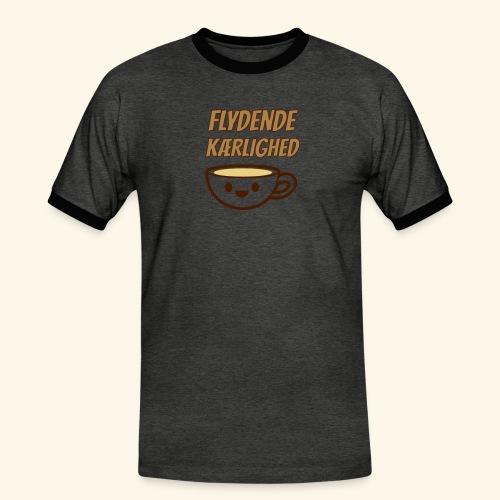 Flydende kærlighed - Herre kontrast-T-shirt