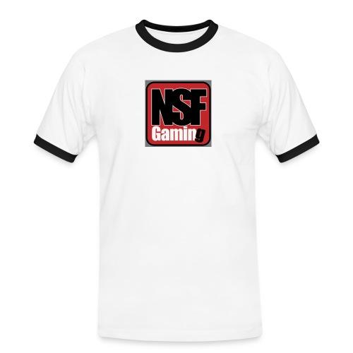 NSFGaming - Kontrast-T-shirt herr