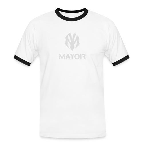 MAYOR LOGO COMPLETE - Männer Kontrast-T-Shirt