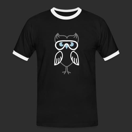 pilot eule - Männer Kontrast-T-Shirt