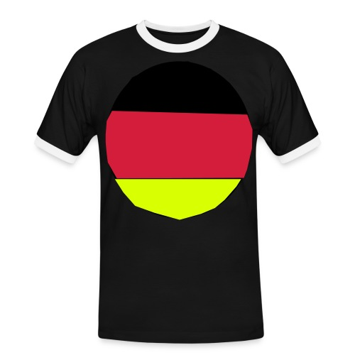 germany-01 - Männer Kontrast-T-Shirt