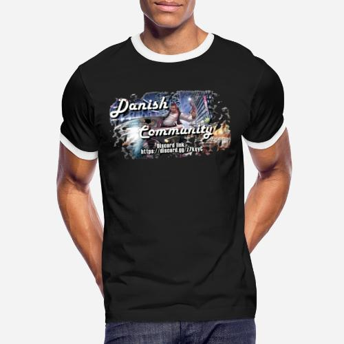 Dansih community - fivem2 - Herre kontrast-T-shirt
