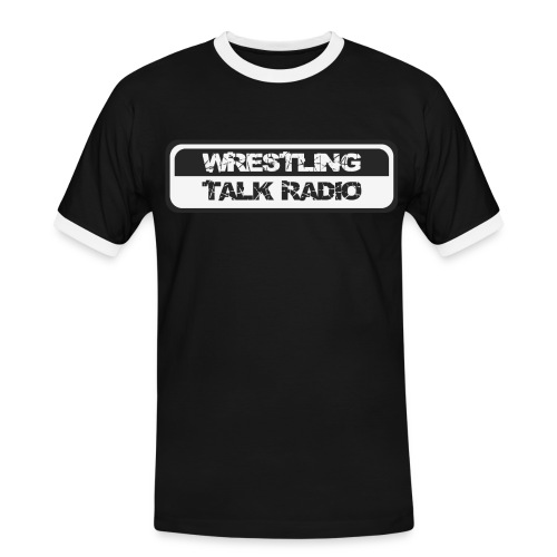 WTR Logo - Männer Kontrast-T-Shirt