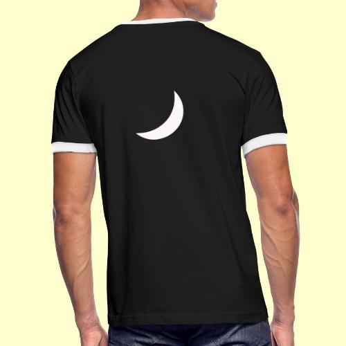 half moon - Camiseta contraste hombre