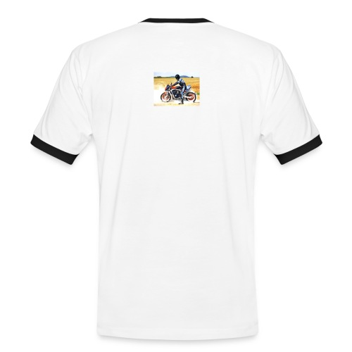 bike11g - Männer Kontrast-T-Shirt